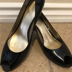 Nine West Black High Heels NEW Size 8
